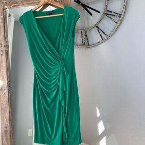 Macy's American Living Jersey Faux Wrap Dress